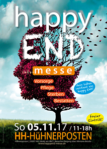 Happy End Bestattungs-Messe Hamburg Huehnerposten