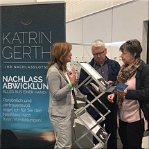 Bestattungs-Messe - Katrin Gerth